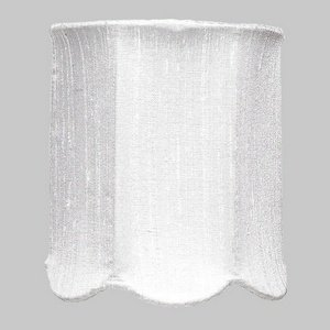 Jubilee Collection 2508 Scallop Drum Chandelier Shade, White by Jubilee Collection (Image #1)