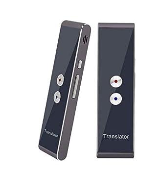 T8S-Braun intelligenter /Übersetzer mit 40 Sprachen Tragbarer Bluetooth Smart Pocket Interpreter Sprach/übersetzer in Echtzeit-Sprache