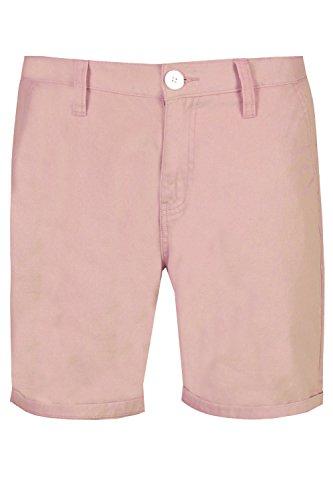 - Brave Soul Mens Smith Chino Shorts Pink - Small