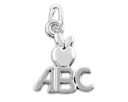 Fundraising For A Cause ABC with Apple Charm in a Bag (1 Charm - Retail)