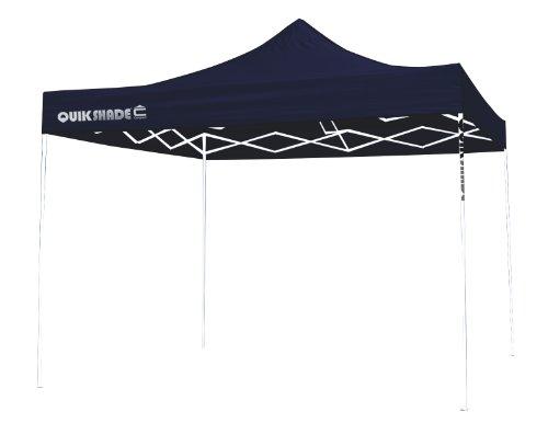 Quik Shade Ultra Compact 100 Canopy (Midnight Blue/White, 10 x 10-Feet), Outdoor Stuffs