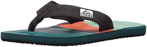 reef-mens-ht-prints-flip-flop-blue-red-10-m-us