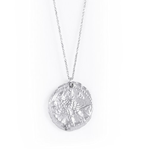 Silver Old Coin Necklace