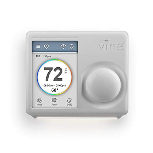 Vine WiFi 7day&8period Programmable Smart Home Thermostat – 3rd Gen