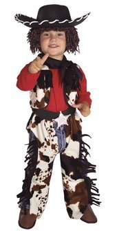 Cowboy Costumes For Toddler (Rubie's Costume Co Cowboy Costume, Toddler)