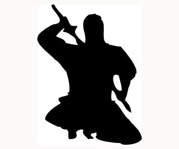 Amazon.com: Ninja Sticker Fight Assassin Car Window Vinyl ...