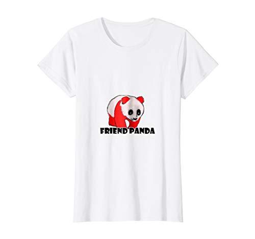 cute panda t shirt for kids and women