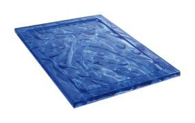 Dune Tray blue/Size 1/46x32cm - Trays Kartell
