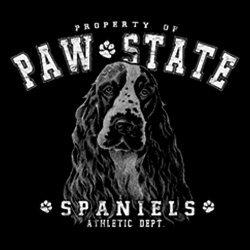 geil bedruckte T-Shirt mit Hunde Motiv / Cocker Spaniel 2 !