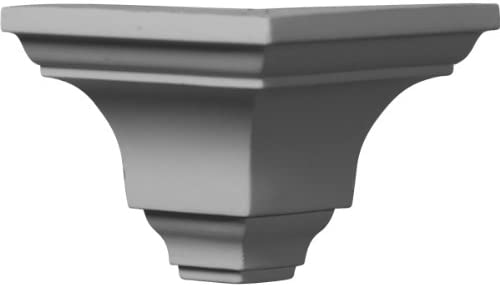 Ekena Millwork MOC03X03SA-CASE-4 Outside Corner for Moulding MLD03X03X04SA (4-Pack) 3 1/4P x 3 1/4H White