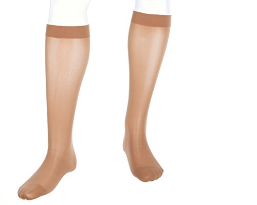 medi assure, 30-40 mmHg, Calf High Compression Stockings, Closed - High Knee Medi Comfort