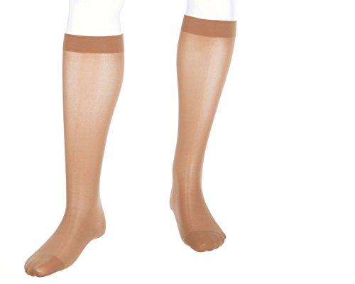mediven Assure, 20-30 mmHg, Calf High Compression Stockings, Closed Toe ()