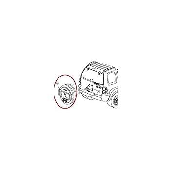 Funda de rueda de emergencia para Jeep Cherokee 2.5L CRD para Jeep - 5jg711 X 7AA: Amazon.es: Coche y moto