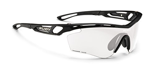 Rudy Project Photochromic - Rudy Project Tralyx Matte Black with Impactx-2 Photochromic Clear to Black Lenses