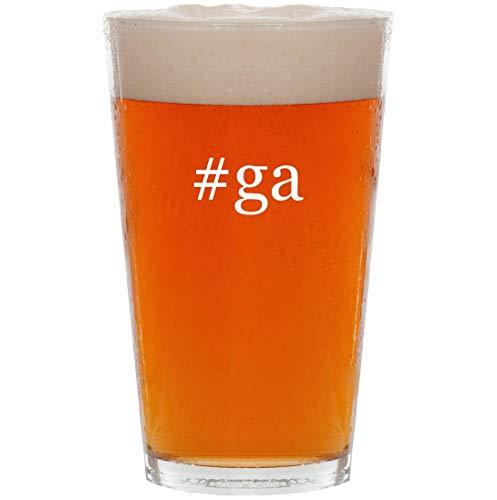 #ga - 16oz Hashtag All Purpose Pint Beer Glass