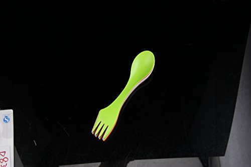 6pcs 3 in 1 Combo Spoon + Fork +Knife (Multicolor) - 1