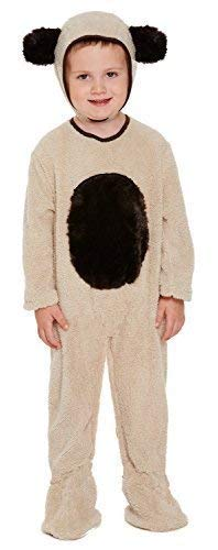Toddler Girls Boys Child's Brown Bear Book Day Week Animal Halloween Fancy Dress Costume Outfit 3 years]()