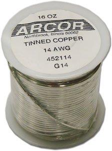 Tinned Pre Wire - 14 Ga Pre-Tinned Wire - 1 Lb