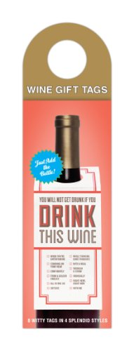 Knock Wine Tags Drink This product image