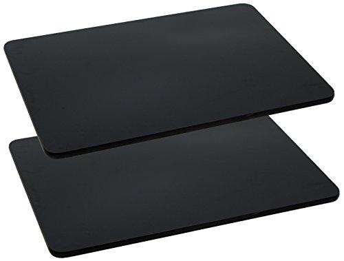 Flash Furniture 2 Pk. 30'' x 48'' Rectangular Black Laminate Table Top