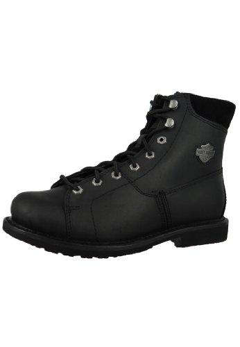 Harley Davidson Biker Boots D93112 Aaron Engineerstiefel Motorcycle Boots Negro Black