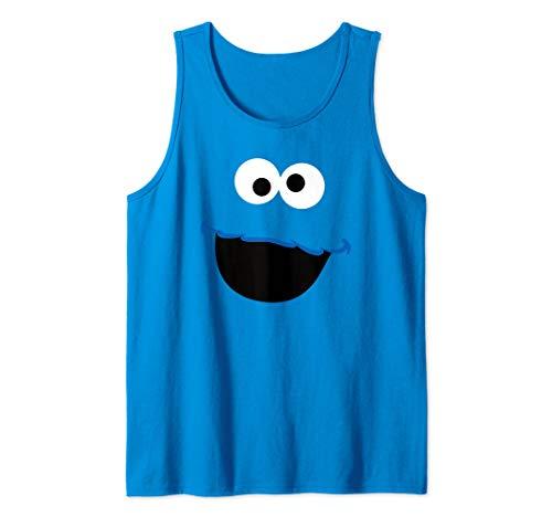 Sesame Street Cookie Monster Face Tank Top