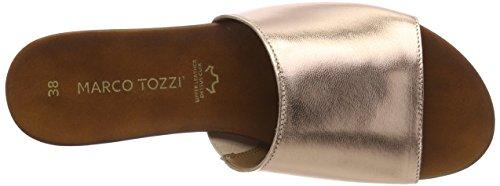 Marco Premio Metallic Ciabatte Rose Tozzi Donna Rosa 27116 BBqTrn1