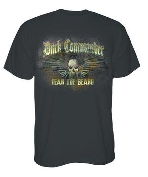Duck Commander Guns Fear The Beard Shirt DCSHIRTGC-MD (Fear The Beard Duck Commander)
