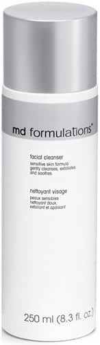 MD Formulations Facial Cleanser Sensitive Skin Formula, 8.3 Fluid Ounce