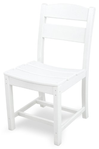Ivy Terrace IVTD110WH Classics Dining Side Chair, White