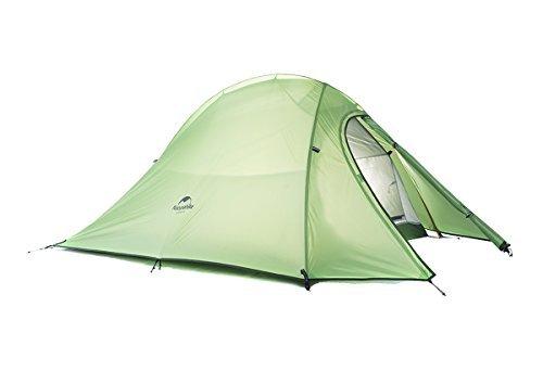 ブラウザかんたん回転NatureHike Naturehike 2人屋外テント二重層テント防水キャンプテント軽量テント