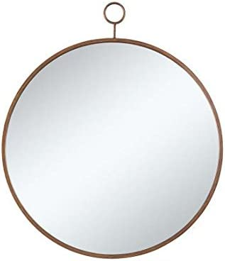 Coaster Home Furnishings Coaster Contemporary Round Wall Mirror with Gold Frame