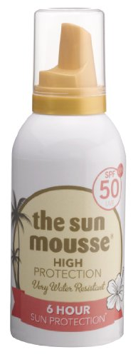 the sun mousse parfümfrei parabenfrei Sonnenschutz-Schaum LSF50, 150 ml