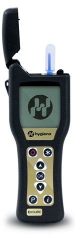 Hygiena EnSURE Luminometer INCLUDES 100 UltraSnap Test Swabs - ATP Bio-Contamination Testing Meter with SureTrend Software