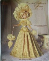[Crochet Collector Costume (1897 Antique Lace Gown, Vol. 34)] (Paradise Costumes Volume)