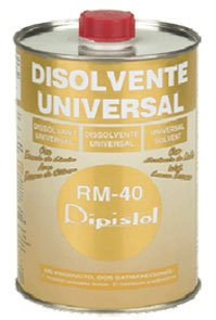 Dipistol 10320102 - Disolvente Universal Rm-40 1/2L.