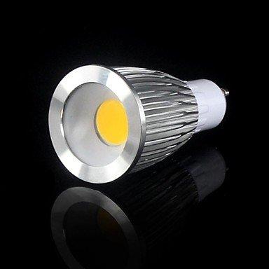 5 piezas 7 W GU10 500-550LM 6000-6500K luz blanca fría bombillas Led