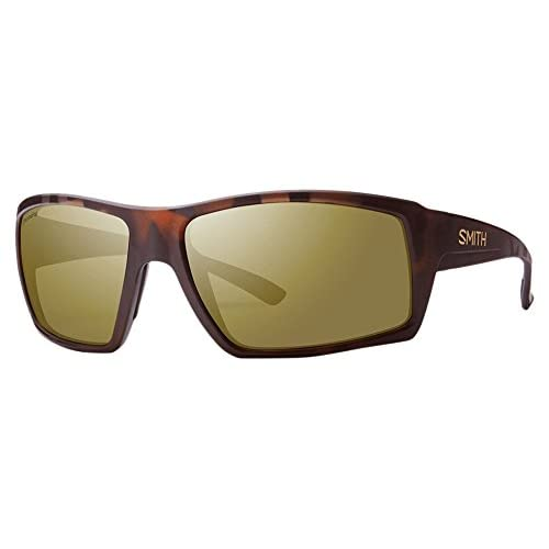 SMITH Challis Lunettes de Soleil Homme Matt Tortoise/Chroma Pop Brown Polar