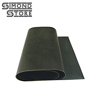 "1//16/"" thick Neoprene Rubber Sheet 8/"" x 10/"" smooth Black FREE SHIPPING"