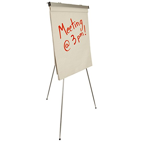 US Art Supply''Classroom'' Large Jumbo 66'' Tall Silver Aluminum Flipchart Display & Presentation Easel by US Art Supply (Image #2)