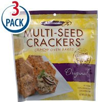 Crunch Master Multi-Seed Crackers Original -- 4.5 oz Each / (Crunch Master Multi Seed)