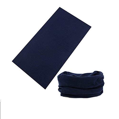 MULTIFUNCTIONAL HEADWEAR UNISEX DESIGNS -Absorbs Sweat Provides UV Protection-12-In-1 Seamless Headband For Outdoor Sports -Wear as a Neck Gaiter, Ski Mask, Bandana, Scarf And More - For Men and Women
