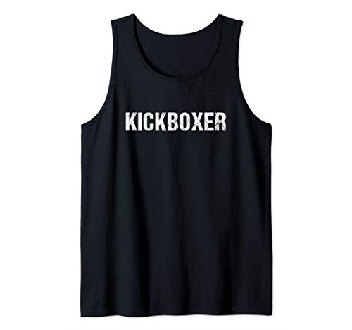 Kickboxing Workout TShirt | Kickboxer Tank Top