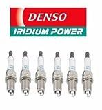 6 PCS NEW -- DENSO # 5338 IRIDIUM Power Spark Plugs -- ITV16