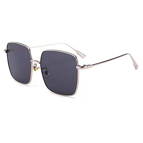 Sunglasses For Oval Face Men - GAMT Polarized Sunglasses Square Lens Full
