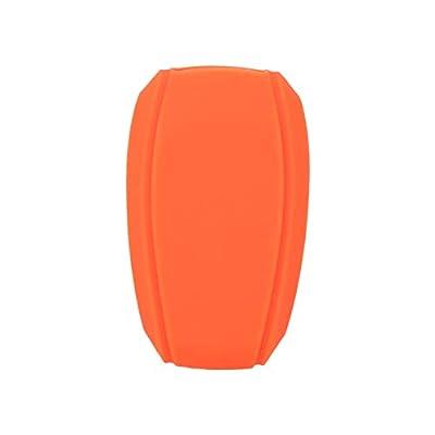 SEGADEN Silicone Cover Protector Case Skin Jacket fit for SUBARU 4 Button Smart Remote Key Fob CV4255 Orange: Automotive