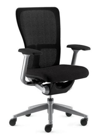 Zody Task Chair by Haworth: Basic Model - Pneumatic Lift - F