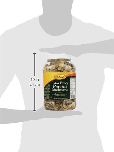 Roland Dried Mushrooms, Porcini Extra Fancy, 16 Ounce by Roland (Image #2)