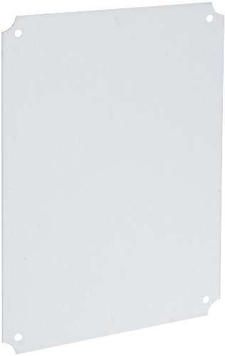 BUD Industries NBX-32926 Steel Internal Panel, 14-1/4 Length x 10-27/64 Width x 3/64 Thick, Natural, for NBF Series Boxes