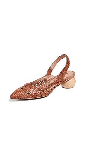 Matiko Women's Circa Slingback Pumps, Burnt Orange, 40 M EU